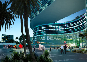 Miami Beach Convention Center - proposed by South Beach Ace