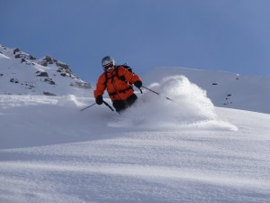 Powder in Verbier, Switzerland