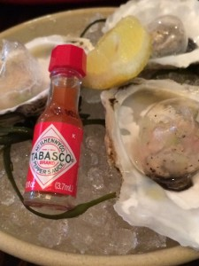 Chilled Oysters With Carbonated Cucumber Mignonette