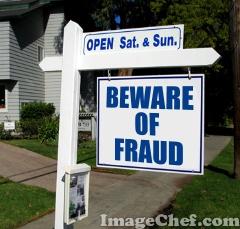 Beware of Fraud