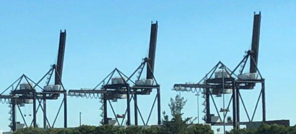 Should Port Miami Keep Their Cranes Or Make Them Flamingos